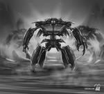 Monster speedpaint by krolone