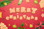 Christmas gingerbread cookies and sweets