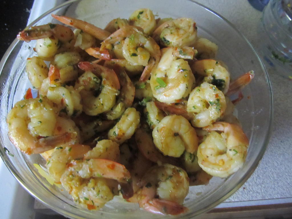 Spicy garlic lemon shrimp by SulemaCatherine on DeviantArt