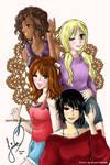 Magic School Bus Girls by sorenka