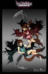 Darkstalkers Kai-Mai-Chii by sorenka