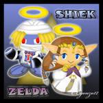 Zelda and Shiek Chao