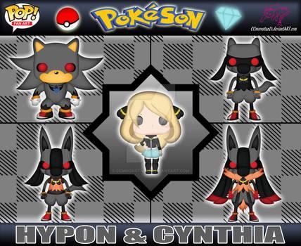Hypon and Cynthia Vinyl Pops