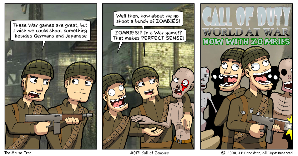 Funny Cod Zombie Memes : Call of zombies by jamesdonaldson on deviantart