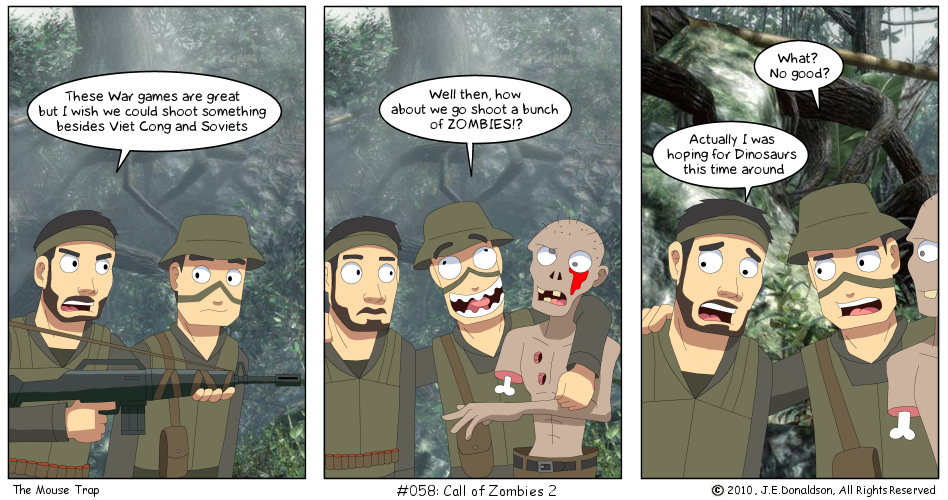Funny Cod Zombie Memes : Call of zombies 2 by jamesdonaldson on deviantart