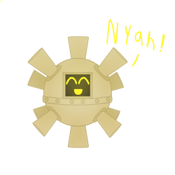 Nyah! (art trade)