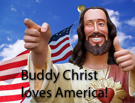 Buddy Christ loves America by mattmyles09 on DeviantArt