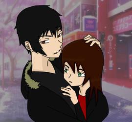 Sorry Shizu-chan She is mine. (IzayaXMasami) by NinjaAnimeHero