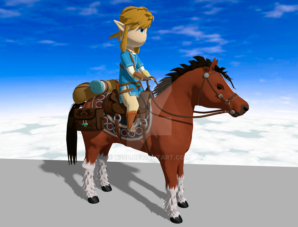 Zelda U Epona WIP 4 by x3sb