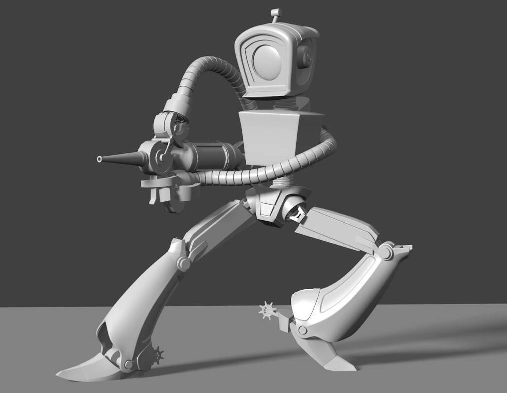 AI Robot by x3sb