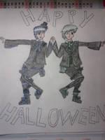 happy halloween by hichigot