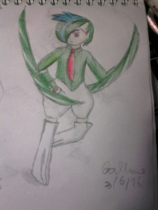 Gallade pokehuman by hichigot