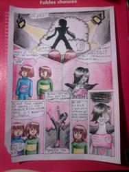 bd Strangetale (bd undertale) page 44 by hichigot