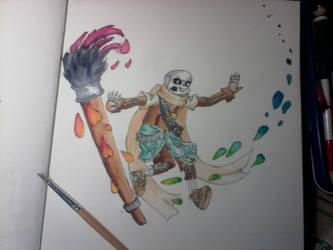 Ink aquarelle