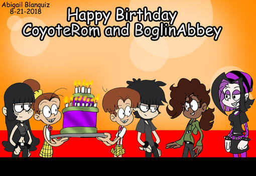 Early Birthday Gift for CoyoteRom and BoglinAbbey