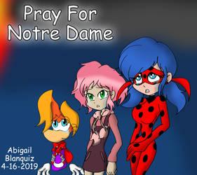 Pray For Notre Dame by Kova360