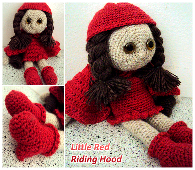 Little Red Riding Hood My Crochet Doll By Suspiciousteacup On