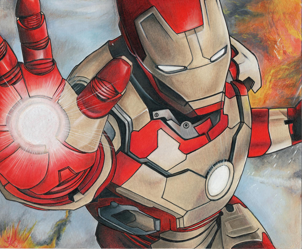 Iron Man. by jasumdeen