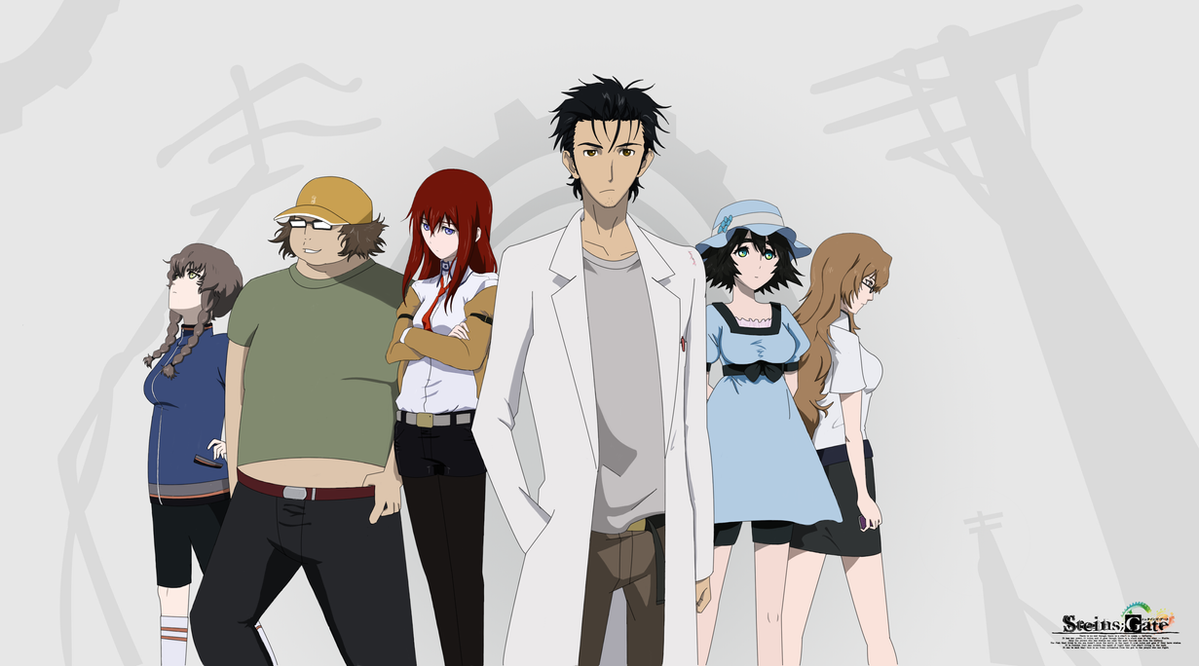 Steins Gate by Mesopelagic