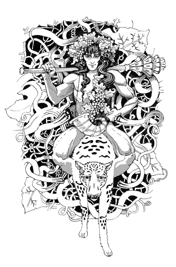 Dionysus Picture, Dionysus Image  Dionysus Drawing