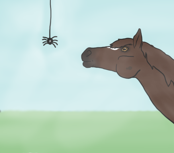 Spider Sense Of Humour - Faime Drawlloween 2 by Happy-Horse-Stable