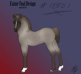 1801 Faime Foal Design by Happy-Horse-Stable