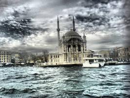 Ortakoy Mosque by onurkacmaz