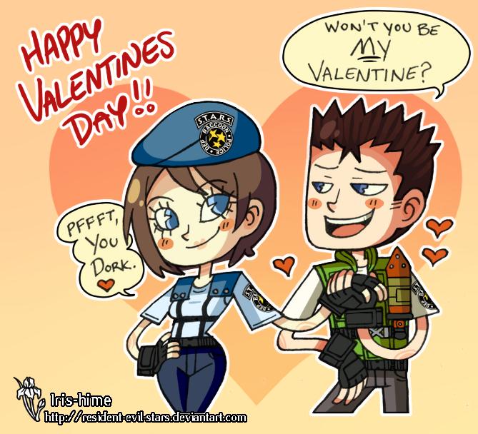 Happy Valentine's Day! by Resident-evil-STARS