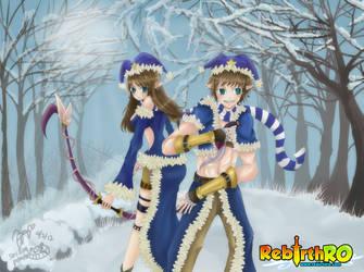Ragnarok~ Twin Stalkers by smillingpanda