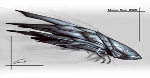 Drone ship concept by Naga-Shesh