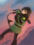 Hiccup and baby Toothless