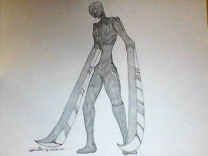 creature oc - Sword Golem