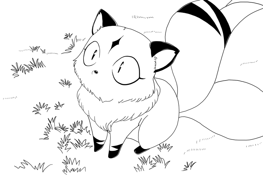 coloring book pages of kirara - photo#22