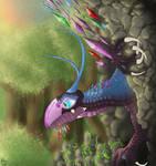 Cyrstal dragon