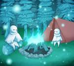 Light children-Art trade-Bubbleboy3