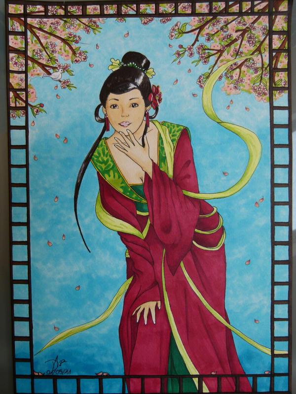 Young Geisha by Dynamisa