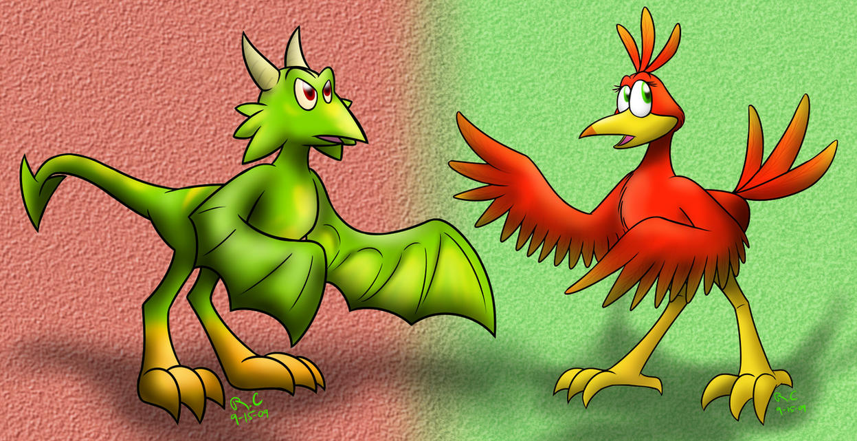 Kazooie Times Tooie by Tikara-the-Mew