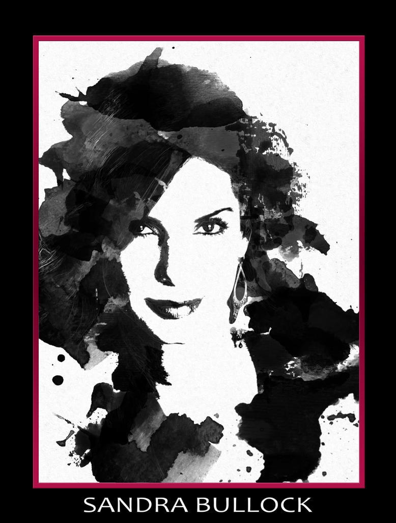 Sandra Bullock by Trevisaur