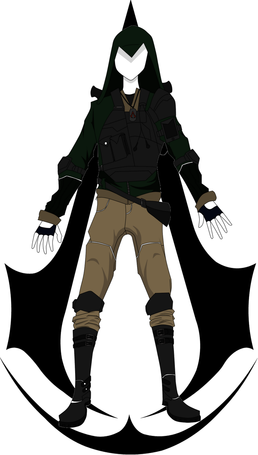 Assassin Combat Outfit by scitt on DeviantArt