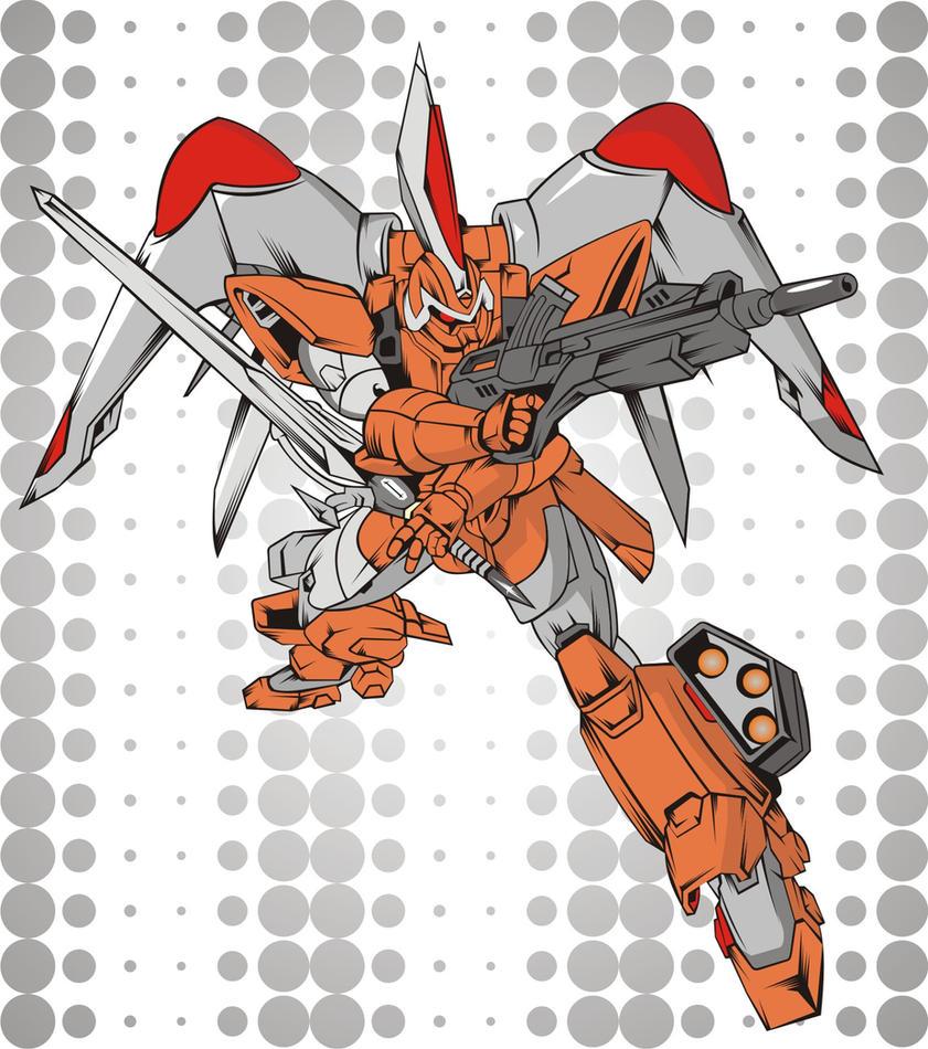 ZGMF-1017 Ginn by jesualdo