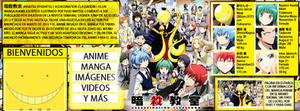 Karma x Nagisa | Cover facebook by JudaliciousG on DeviantArt