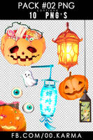 Pack #02 | Halloween PNG'S by JudaliciousG