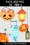Pack #02 | Halloween PNG'S