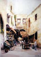 Saida, Kikhiya cross by Bizriart