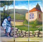 Lebanon scene by Bizriart
