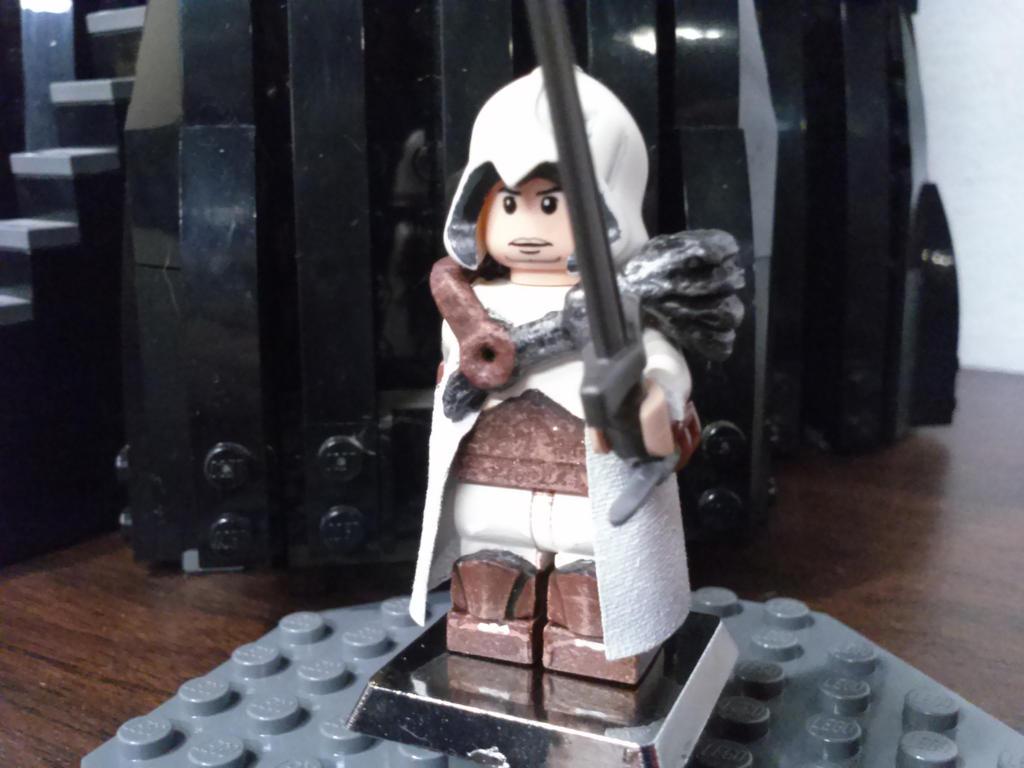Custom Lego Assassins Creed Minifigure By Dragonart116 On Deviantart