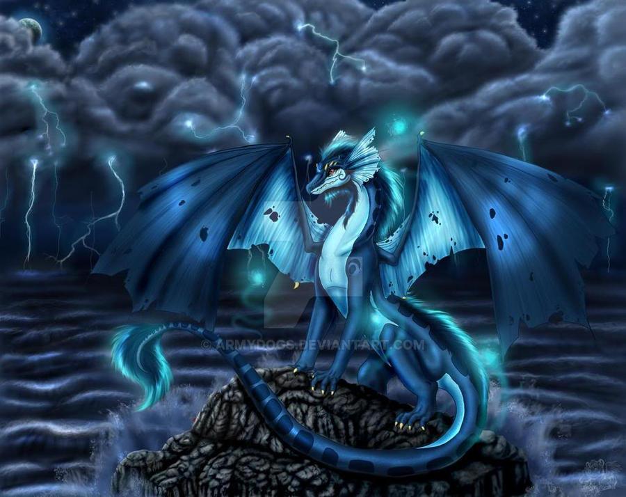 Lightning dragon by ArmyDogs on DeviantArt