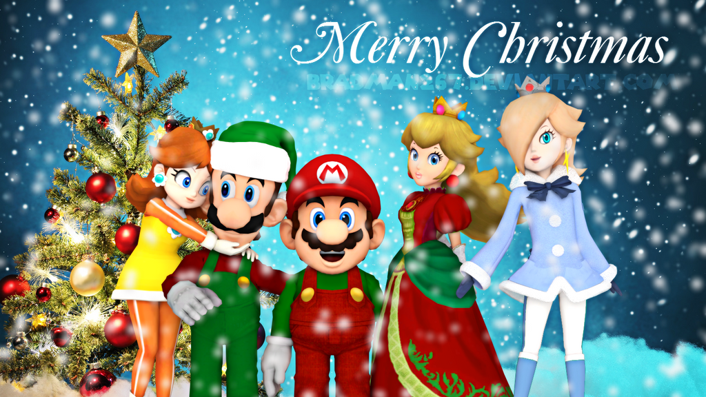 Merry Christmas from Mario and Friends 2015 by BradMan267 on ...
