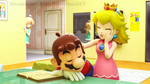 Mario and Peach: Pats for Naps by BradMan267