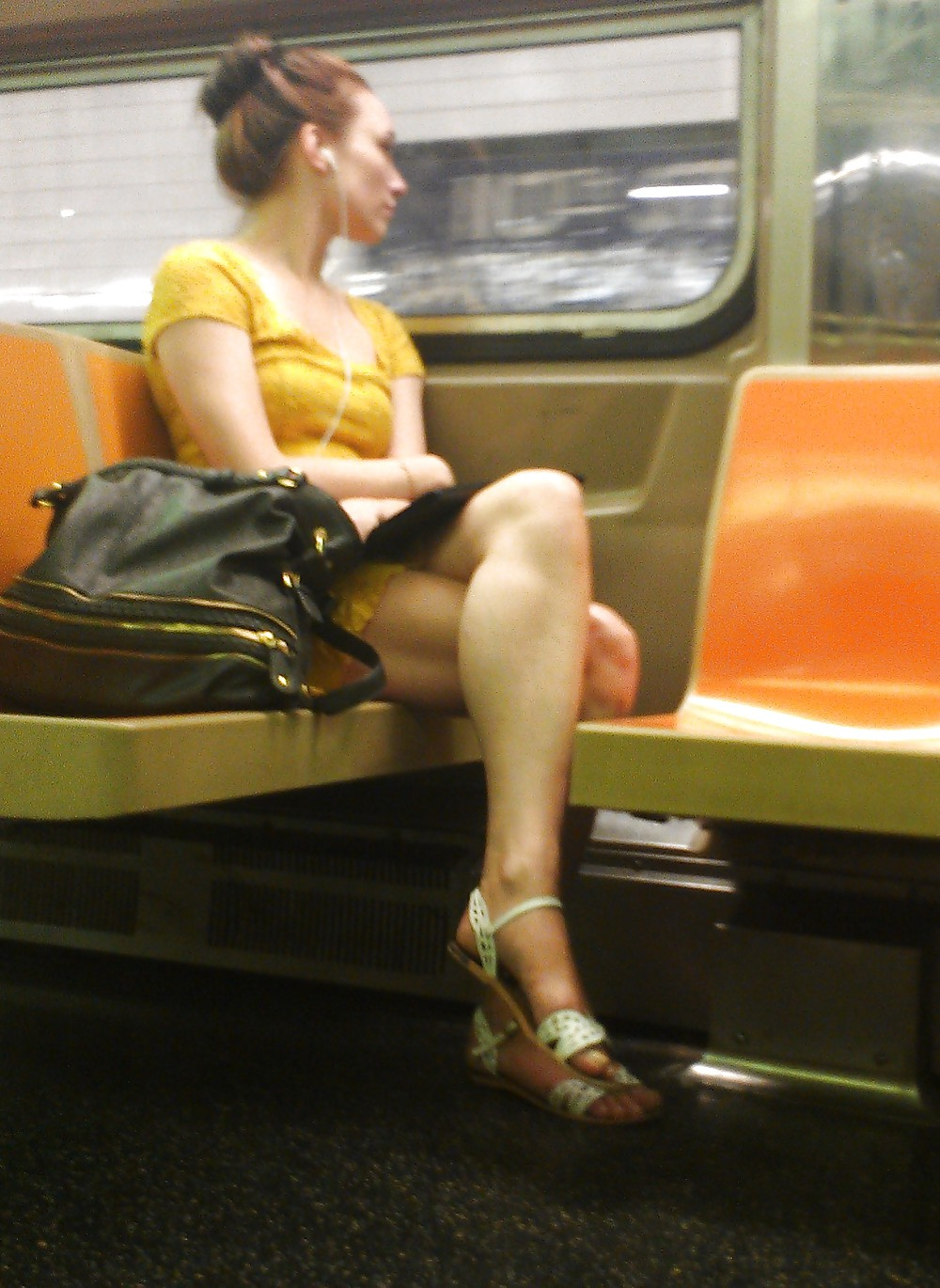 Nyc subway voyeur asian girls - 1 part 10
